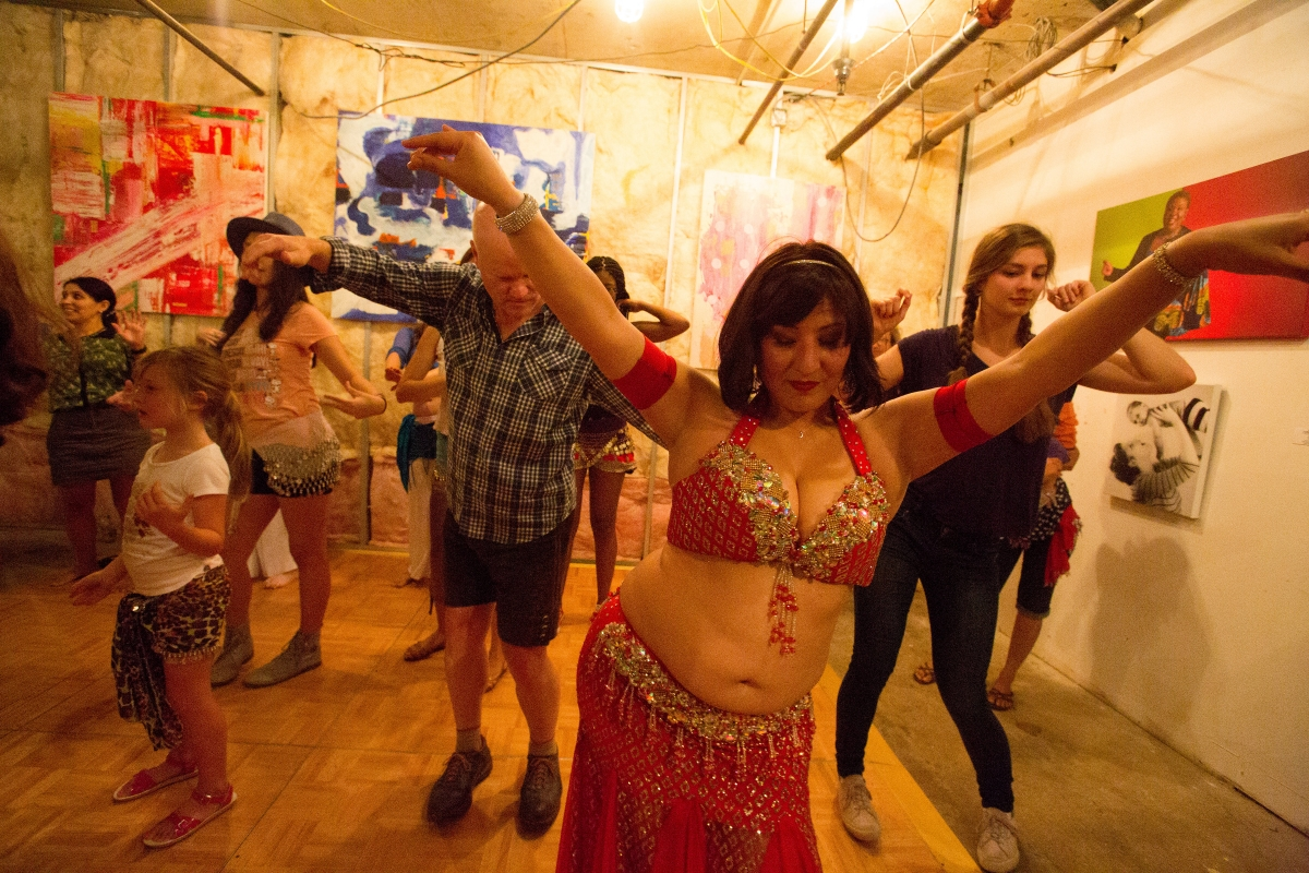 Bellydance mini class - Copy