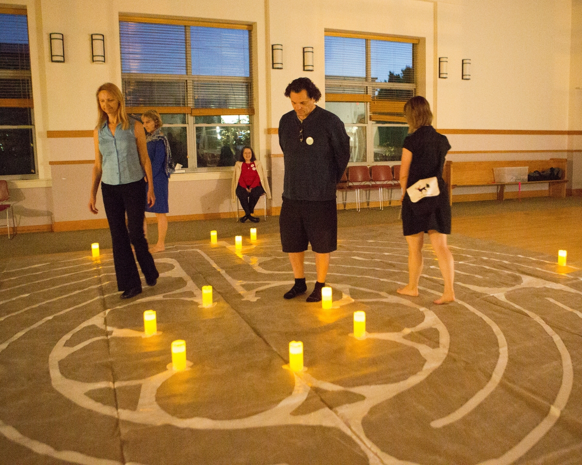 St Columba Labyrinth