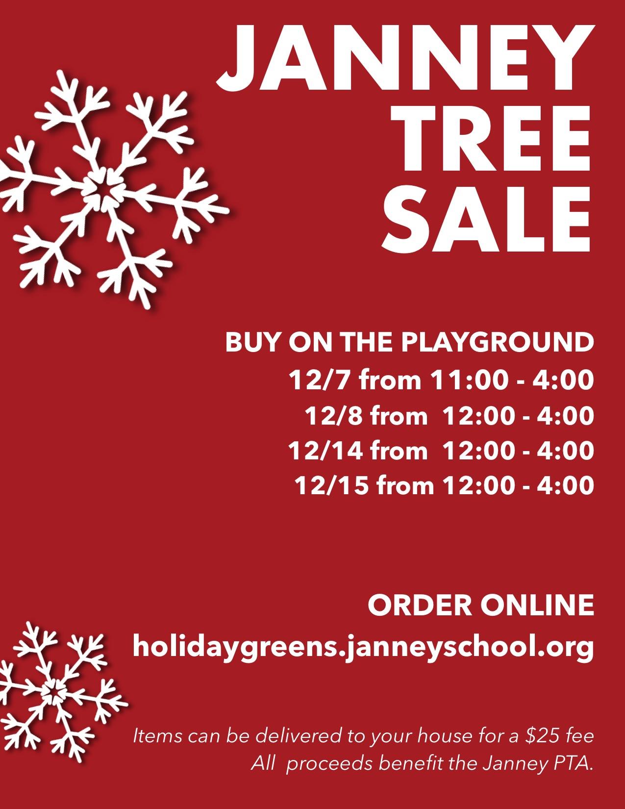 Janney Tree + Greens Sale