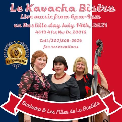Bastille Day Jazz Caberet