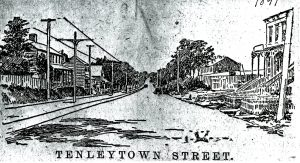 A Tenleytown Street 1891 Evening Star-min