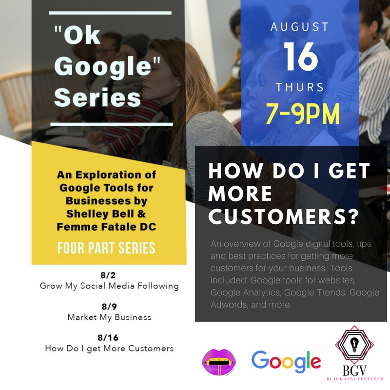OK Google: How do I get more customers? - Tenleytown Main Street