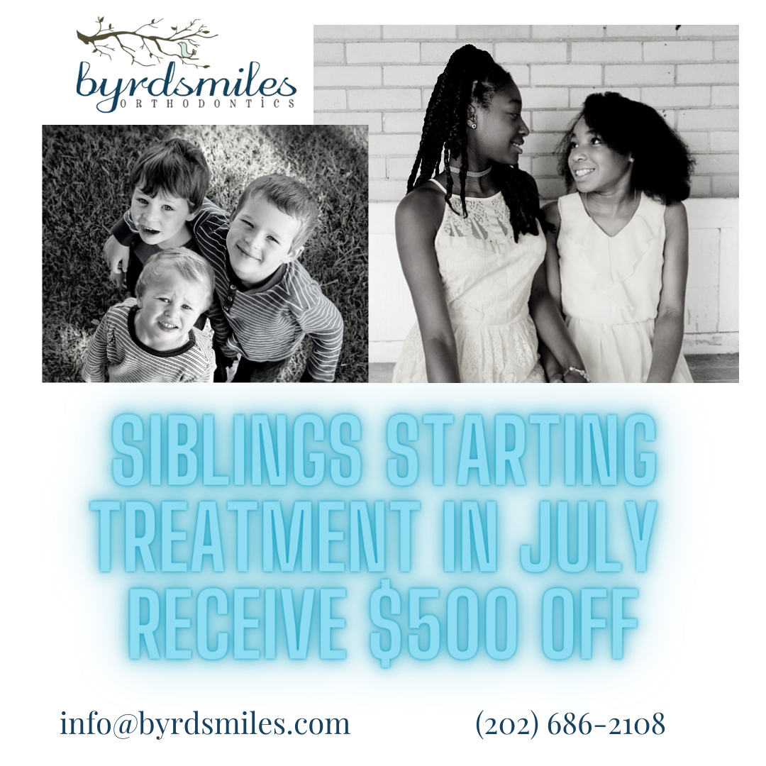 Siblings save in July!
