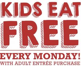 Kids Eat Free on Mondays