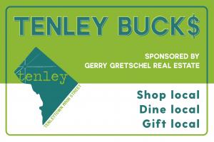 Tenley Bucks e-Gift Card